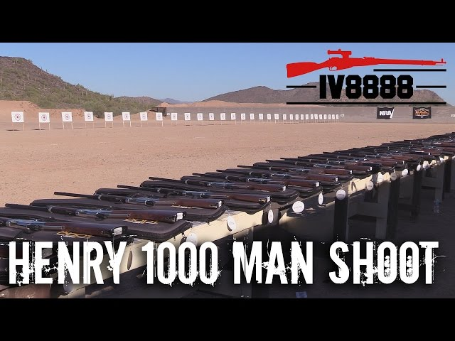IraqVeteran8888 Covers the 1,000 Man Shoot