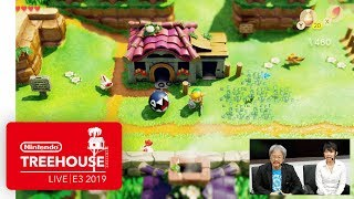 The Legend of Zelda: Link's Awakening Gameplay - Nintendo Treehouse: Live | E3 2019