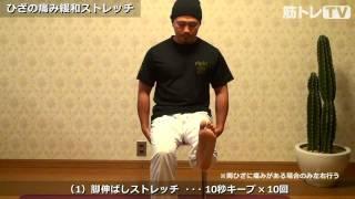膝痛改善ストレッチ