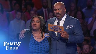 Merriets going for Big Money!   Family Feud