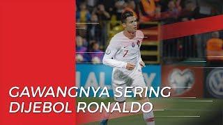 Tim Peringkat 132 FIFA Menjadi Tim yang Gawangnya Paling Sering Dijebol Cristiano Ronaldo