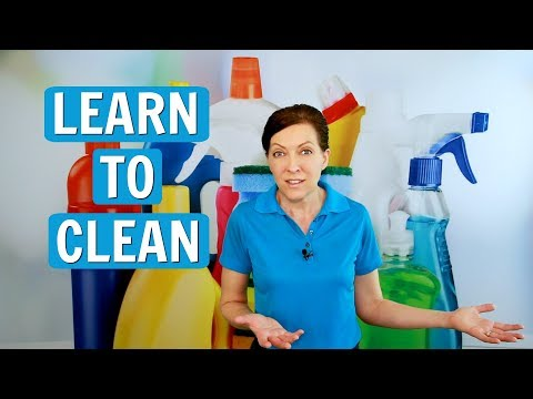 Learn to Clean - House Cleaning 101 - YouTube