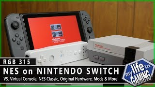 RGB315 :: NES on Nintendo Switch VS. Original Hardware, Virtual Console & More