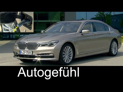 New BMW 7-Series Plugin-Hybrid iPerformance 740Le xDrive Exterior/Interior Preview