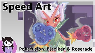 Speedart: Pokefusion Blazerade