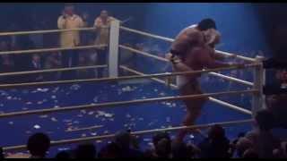 Rocky Iii - Rocky Throws Thunderlips  1982