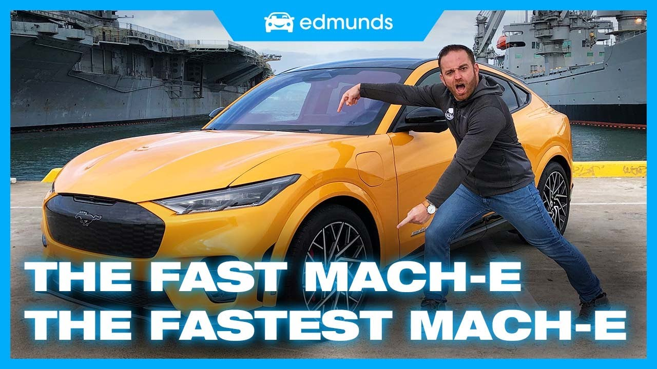 LHzwLyxvXzU - 2021 Ford Mustang Mach-E GT First Drive | The Now Fastest Mach-E | Price, Interior, Range & More