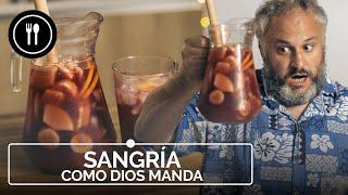 SANGRÍA como DIOS MANDA