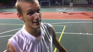 preview picture of video 'Новогодний турнир по стритболу'