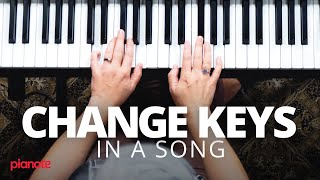 How To Change Keys In A Song (Piano lesson)