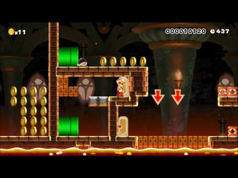 [4] Easier Super Mario Maker Levels #14!