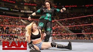Nia Jax vs. Ann Esposito: Raw, Sept. 5, 2016