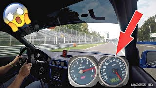 745HP Subaru Impreza EMBARRASS Porsches on Track! - OnBoard @ Monza + Speedo View!