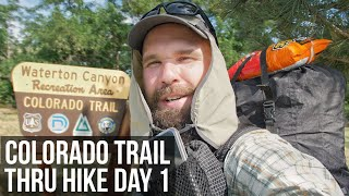 Colorado Trail Thru Hike Day 1 | The Start of the Journey at Waterton Canyon