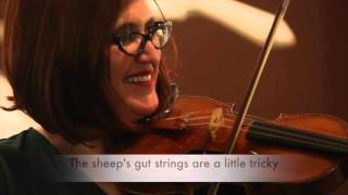 Watch what happens when a fiddle player is handed a Stradivarius vioin