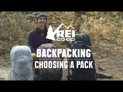 How to Choose Backpacking Packs    REI