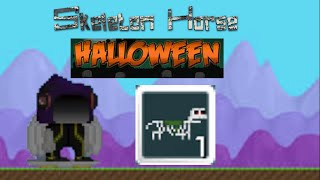 Getting Skeleton Horse [Growtopia]
