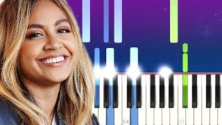 Jessica Mauboy   Little Things (Piano Tutorial)