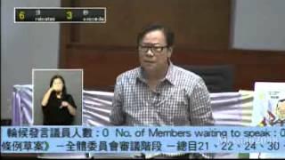 黃毓民;行政會議成員、全是狗屎垃圾!