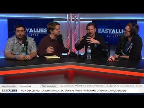 FF VII, Avengers, Cyberpunk, and More - Impressions Day 1 - E3 2019 (audio de-sync)