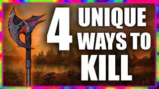 Skyrim - 4 Unique Ways to Kill People