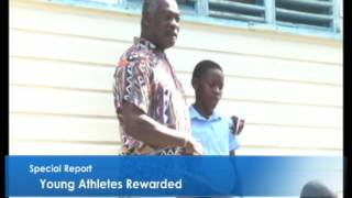 Athletes rewarded for excellent performances....Special Report
