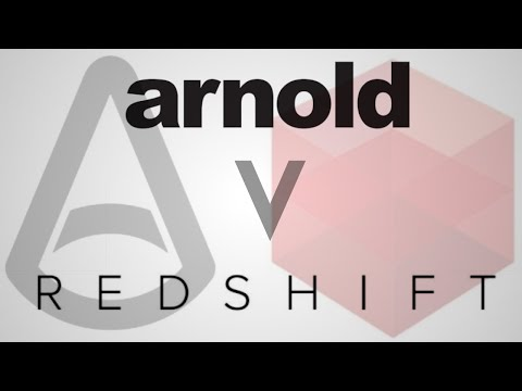 Render Comparison Test 8 (Volume) - Redshift, Arnold, V-Ray