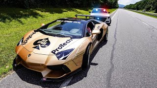 NORTH CAROLINA POLICE CHARGE LAMBORGHINI OWNER WITH RECKLESS DRIVING!!  * ACE SPADE DAY 3 *