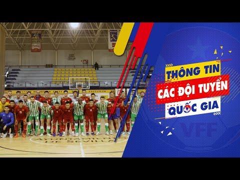 Giao hữu tại Tây Ban Nha, ĐT futsal Việt Nam hòa Real Betis FS 2-2