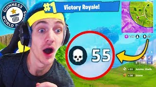 Top 5 Fortnite WORLD RECORDS You Can NEVER Beat! (Fortnite Ninja World Record Kills & More)