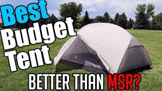 Best Budget Backpacking Tent - Naturehike Mongar 2 (MSR Clone?)