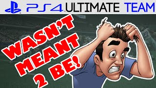 Madden 15   Madden 15 Ultimate Team   WASN'T MEANT TO BE   MUT 15 PS4 Gameplay