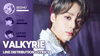ONEUS - Valkyrie (Line Distribution + Lyrics Color Coded) PATREON REQUESTED