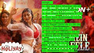 Best Bollywood Holi Songs Nonstop Hindi 2020 Party Collection New
