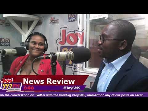 Newspaper Review  - #JoySMS on Joy FM (3-10-18)