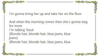 Chris de Burgh - Blonde Hair Blue Jeans Lyrics