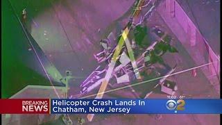 Helicopter Crash Lands In Chatham, N.J.