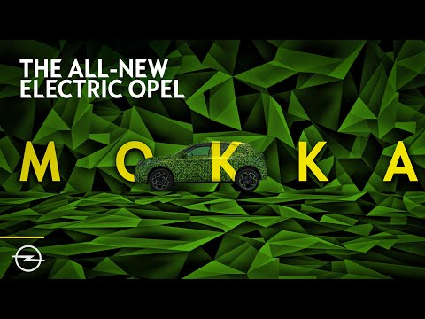 Introducing... the all-new electric Opel Mokka