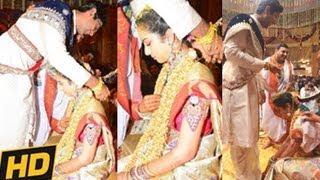 Balakrishna Daughter Tejaswini Wedding | Tejaswini Weds Sribharat Marriage Video - 20