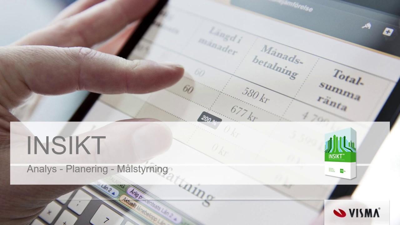 Stillbild från videoklipp där INSIKT presenteras