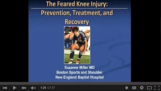 Knee Injuries: Prevention, Treatment & Recovery