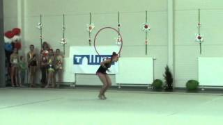 Liza Larina 2001) 3 place Noorus Cup 2013 Talinn hoop