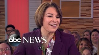 Sen Amy Klobuchar Opens Up About Her 2020 Campaign