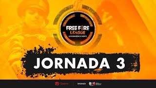 Jornada 3 | Free Fire League LAN | Mapa 6
