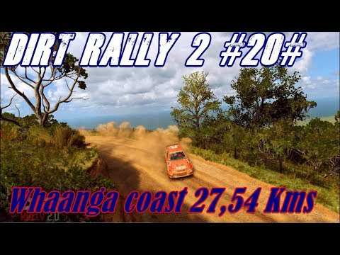 Dirt Rally 2.0 #20#  Whaanga coast 27,54 Kms .