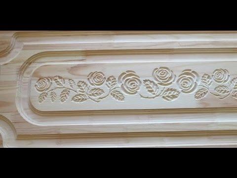 Гравировка мебельного фасада от Чпу Моделист. Резной мебельный фасад своими руками
