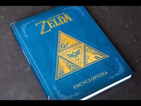 The Legend of Zelda Encyclopedia (book flip)
