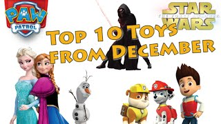 The Top 10 Most Viewed Toys on TTPM in December!