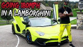 KING OF DOWNTOWN: PICKING UP CHICKS IN A $700,000 LAMBORGHINI SV ROADSTER