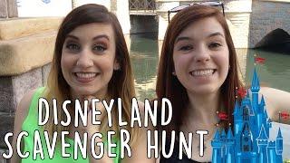 Disneyland Scavenger Hunt w/ Thingamavlogs! ft. Sarah Snitch, Leo Camacho, & JamesChats